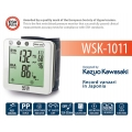 "NISSEI Japan WSK-1011 - Tensiometru automat de incheietura, validat clinic, operare ""touch"", indicator aritmie, validat clinic"