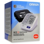 Tensiometru digital de brat OMRON M3 INTELLISENSE (model nou), 2 utilizatori, validat clinic, LED-uri avertizare