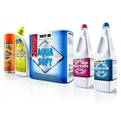 PACHET OPTIM (Aqua Kem Blue + Aqua Rinse Plus + Aqua Soft + Seal Lubricant + Toilet Bowl Cleaner)