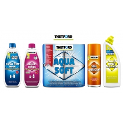 PACHET OPTIM (Aqua Kem Blue + Aqua Rinse + Aqua Soft + Seal Lubricant + Toilet Bowl Cleaner)