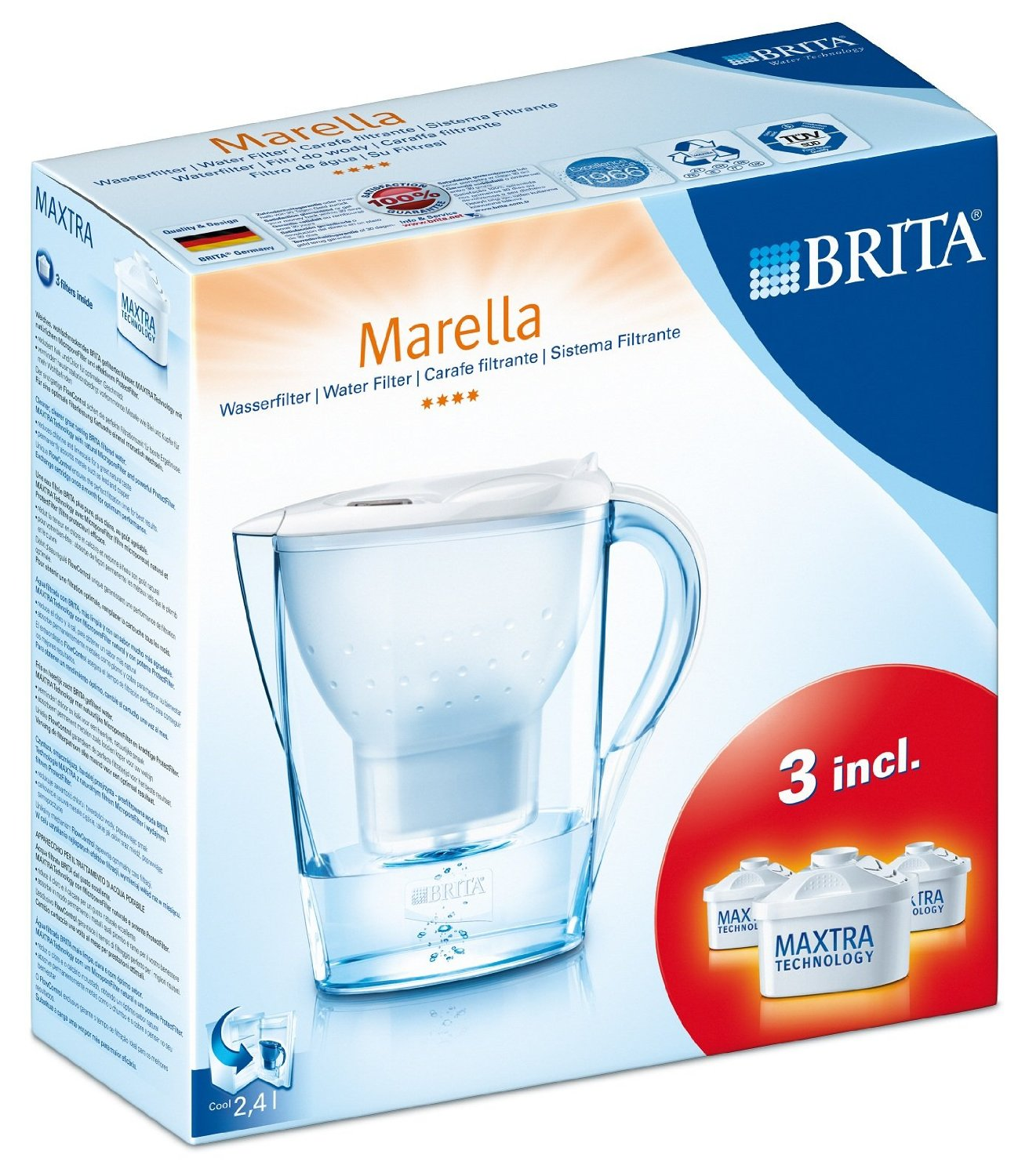 cana filtranta apa brita marella cool cu 3 filtre brita maxtra. Black Bedroom Furniture Sets. Home Design Ideas