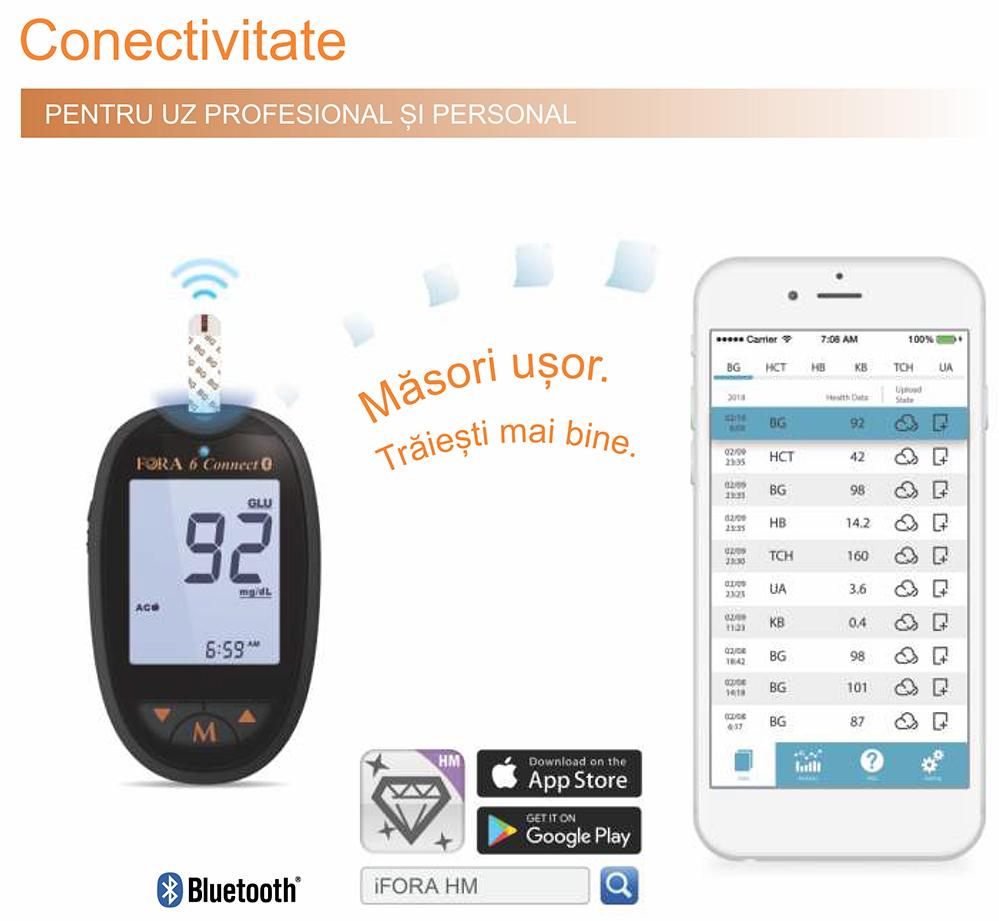 FORA-6-Connect-conectare-bluetooth