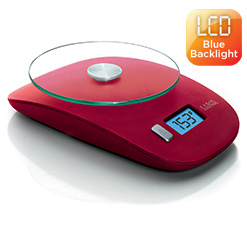 Cantar-electronic-bucatarie-Laica-KS1020-blue-backlight