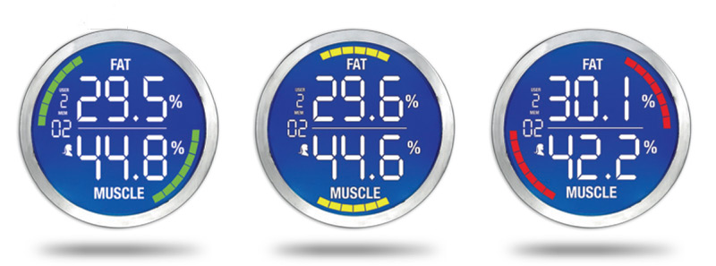 Laica-PS5009-cantar-electronic-analizor-corporal-Bodyfat-Bodywater-Monitor-afisaj
